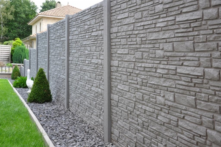 Betónové ploty si obľúbite